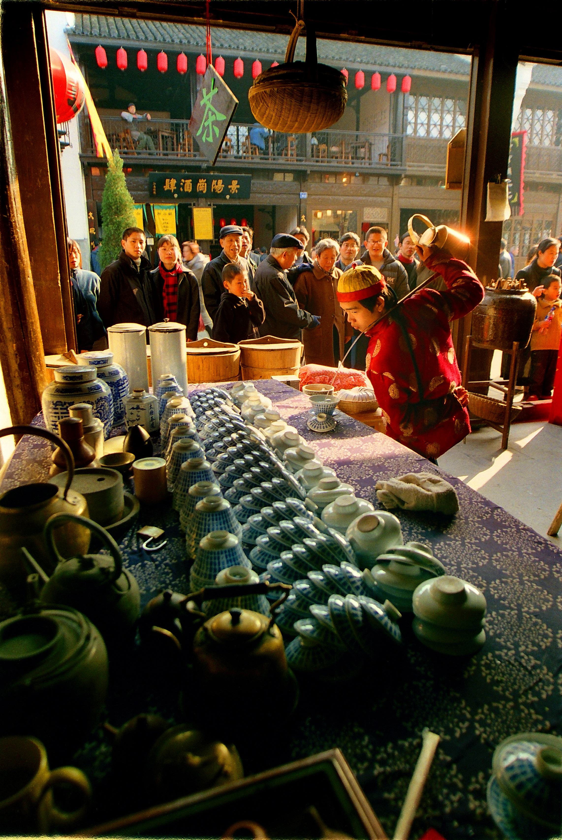 Hangzhou is famous for its tea culture