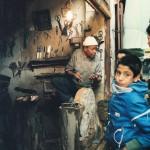 Knife Sharpener in Morocco