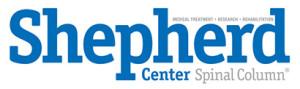 Shepherd Center Spinal Column Logo