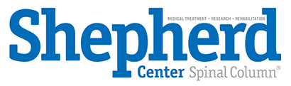 Shepherd Center Spinal Column Logo