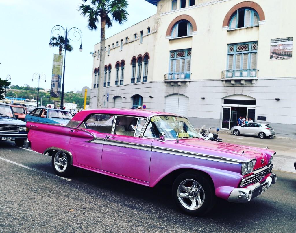 Classic Car, Havana, Cuba