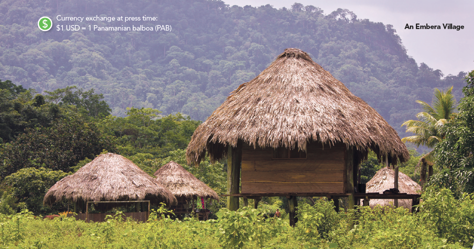 Mia Taylor Travel Writer Westways Magazine Photograph Embera Village, Panama