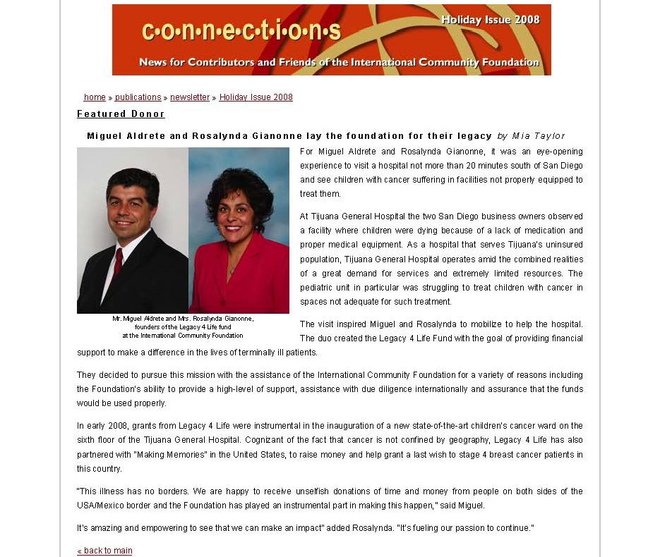Miguel Aldrete and Rosalynda Gianonne lay foundation for legacy_Page_1